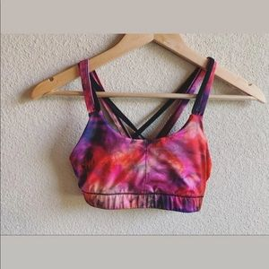 Champion Galaxy / Space Dyed Sports Bra Small